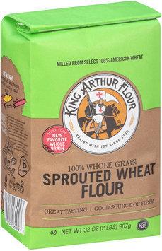 King Arthur Flour 100% Whole Grain Sprouted Wheat Flour 2 lb. Bag