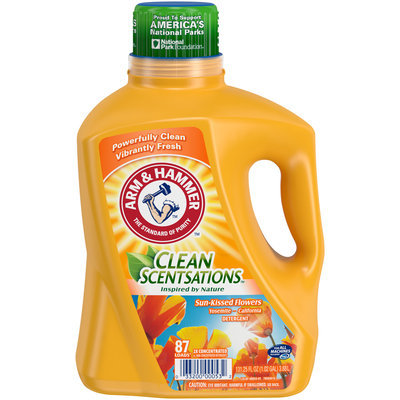 Arm & Hammer™ Clean Sensations™ Sun-Kissed Flowers Detergent 131.25 fl. oz. Jug