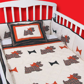 Patch Magic Scottie 9 Piece Crib Bedding Set
