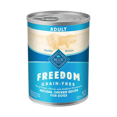 THE BLUE BUFFALO CO. BLUE™ Freedom® Grain-Free Chicken Recipe For Adult Dogs