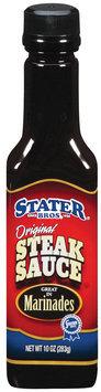 Stater Bros. Original Steak Sauce 10 Oz Plastic Bottle