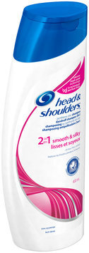 Smooth & Silky Head and Shoulders Smooth & Silky 2-in-1 Dandruff Shampoo + Conditioner 400 mL