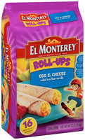 El Monterey® Egg & Cheese Roll-Ups 40 oz. Bag