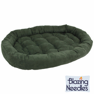 Blazing Needles Microsuede Dog Bed Color: Cardinal Red