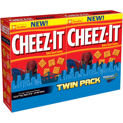 Cheez-It® The Amazing Spider-Man™ Baked Snack Crackers