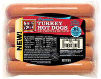 Louis Rich Turkey Hot Dogs 5 ct Pack