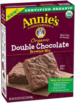 Annie's™ Double Chocolate Brownie Mix 18.4 oz. Box