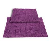 Textile Decor Castle 2 Piece 100% Cotton New Tile Spray Latex Bath Rug Set, 24 H X 17 W and 34 H X 21 W