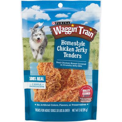 Purina Waggin' Train Homestyle Chicken Jerky Tenders Dog Treats 3 oz. Pouch