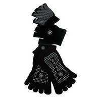 GAIAM Grippy Yoga Sock and Glove Set
