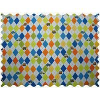 Stwd Argyle Transport Fabric by the Yard Color: Blue