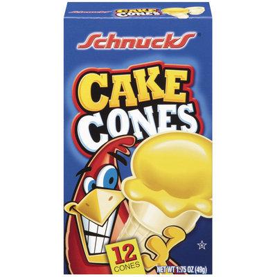 Shnucks Cake Cones 12 Ct