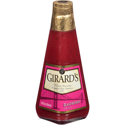 Girard's® Raspberry Dressing 12 fl. oz. Glass Bottle