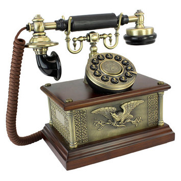 Design Toscano 1910 Reproduction President's American Eagle Telephone