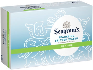 Seagram's Key Lime Sparkling Seltzer Water 24 pk, 12 oz Cans
