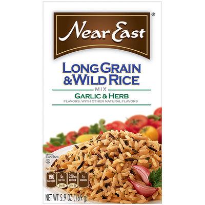 Near East Garlic & Herb Long Grain & Wild Rice Mix 5.9 Oz Box