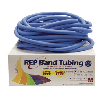 Rep Band Exercise Tubing Resistance: Level 4/Blue