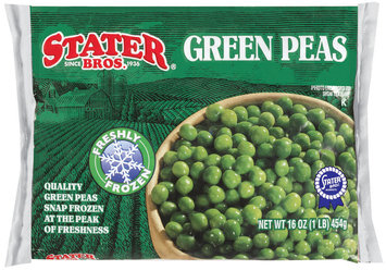 Stater Bros. Green Peas 16 Oz Bag
