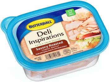 Butterball® Deli Inspirations Extra Thin Sliced Savory Roasted Turkey Breast 9 oz. Plastic Tub