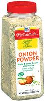 McCormick White & Green Onions W/Parsley California Style Onion Powder 19 Oz Shaker