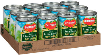 Del Monte™ Harvest Selects™ Green Lima Beans 12-15.25 oz. Cans