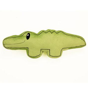 One Grace Place Jazzie Jungle Boy Decorative Pillow Alligator