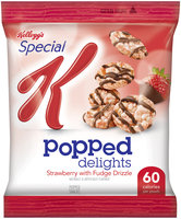 Special K® Kellogg's Popped Delights™ Strawberry with Fudge Drizzle Popped Snacks