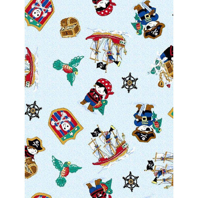 Stwd Pirates Playard Fitted Sheet