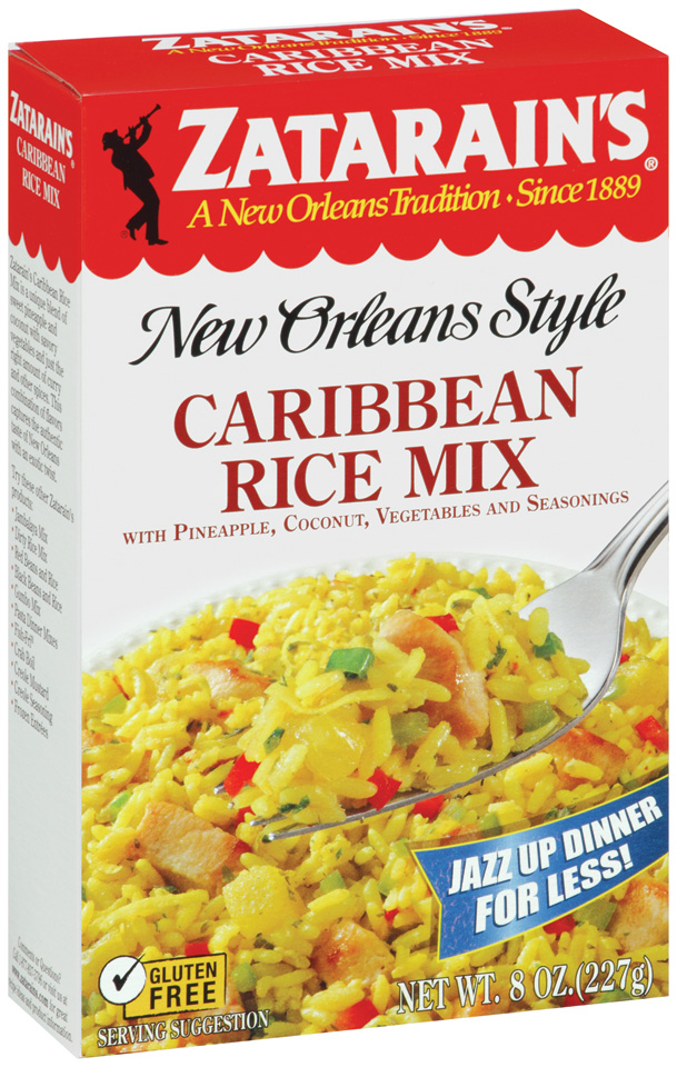 Zatarain's® Caribbean Rice Mix 8 oz. Box
