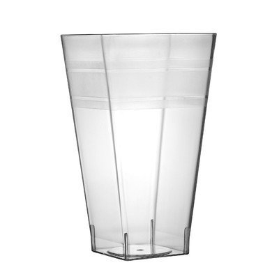 Fineline Settings, Inc Wavetrends 8 oz. Square Tumbler (Pack of 168) Size: 8 oz.