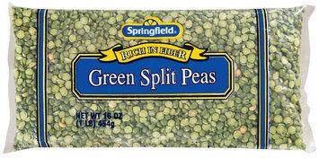 Springfield Green Split Peas 16 Oz Bag