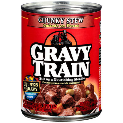 Gravy Train Chunks in Gravy Chunky Stew Wet Dog Food
