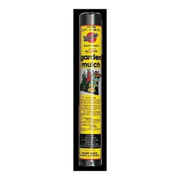Warp Brothers Garden Mulch Black 3x100 Feet - NH-3100