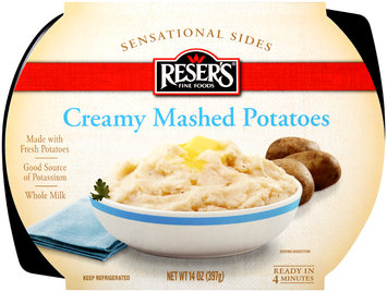 Reser's Fine Foods® Sensational Sides Creamy Mashed Potatoes 14 oz. Tray