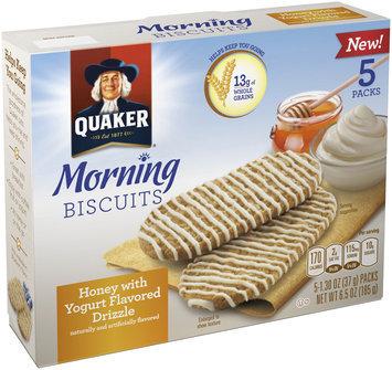 Quaker® Honey & Yogurt Breakfast Biscuit
