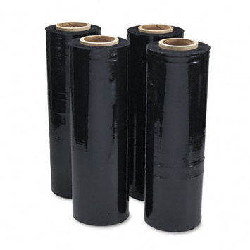 Universal Battery Universal Office Products Pallet Wrap Universal Black Stretch Film