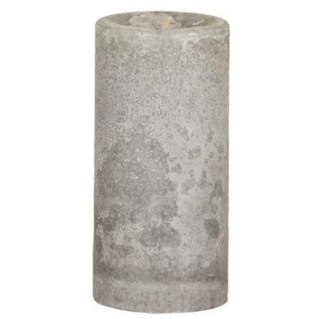 Oddity, Inc. Weathered Serenity Pillar Candle Size: 6