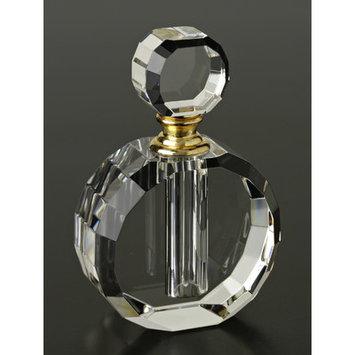 Badash Round Crystal Perfume-Zoe