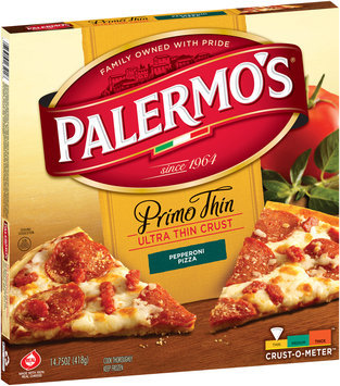 Primero's® Primo Thin Ultra Thin Crust Pepperoni Pizza, 14.75 oz. Box