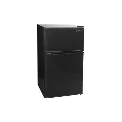 Kegco MDC315-2BB - 3.1 CF Two Door Counterhigh Refrigerator - Black