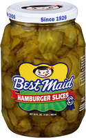 Best Maid® Dill Hamburger Slices 32 fl. oz. Jar