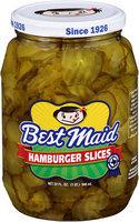 Best Maid® Dill Hamburger Slices 32 fl. oz. Jar