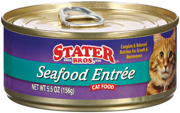 Stater Bros. Seafood Entree Cat Food 5.5 Oz Can