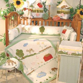 Brandee Danielle Appletree Farm 4 Piece Crib Bedding Set