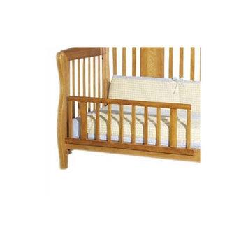 Child Craft Freeport Lifetime Bed Toddler Rail Finish: Rootbeer