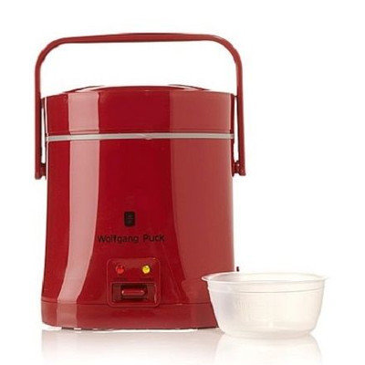 Wolfgang Puck Everyday Essentials 1.5-Cup Perfect Portable Rice Cooker Finish: Red