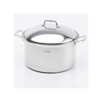 Cookware Stock Pot with Lid Size: 16 Quarts