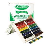 Crayola BAS130 240 Piece Long Colored Pencil Class Pack