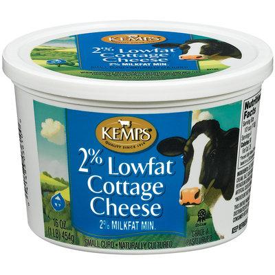 Kemps 2% Lowfat Cottage Cheese 16 Oz Tub
