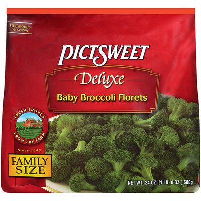 DELUXE Baby Florets Broccoli 24 OZ STAND UP BAG